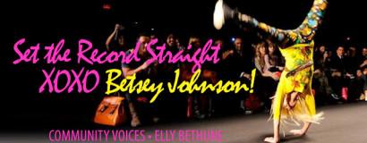 XOX Betsey Johnson (STYLE CH)