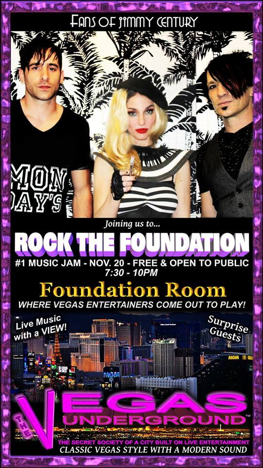 Rock the foundation - the foundation room las vegas